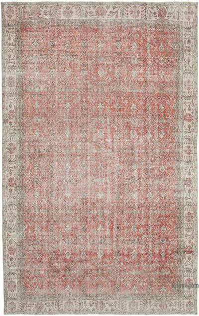 """Vintage Turkish Hand-Knotted Rug - 7' 3"""" x 11' 6"""" (87 in. x 138 in.)"""