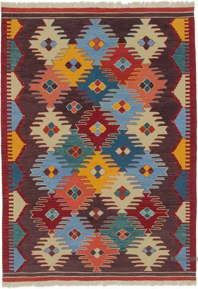 "New Handwoven Turkish Kilim Rug - 4' 2"" x 5' 10"" (50 in. x 70 in.)"