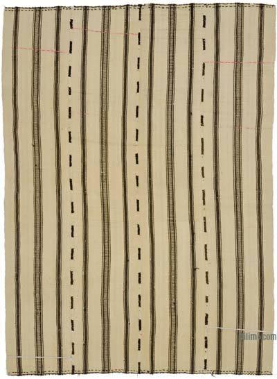"""Vintage Turkish Kilim Rug - 5' 5"""" x 7' 3"""" (65 in. x 87 in.)"""