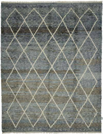 "New Turkish Tulu Rug - 9' 4"" x 12'  (112 in. x 144 in.)"