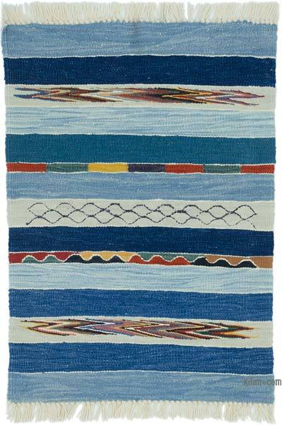 "New Handwoven Turkish Kilim Rug - 2' 2"" x 3'  (26 in. x 36 in.)"