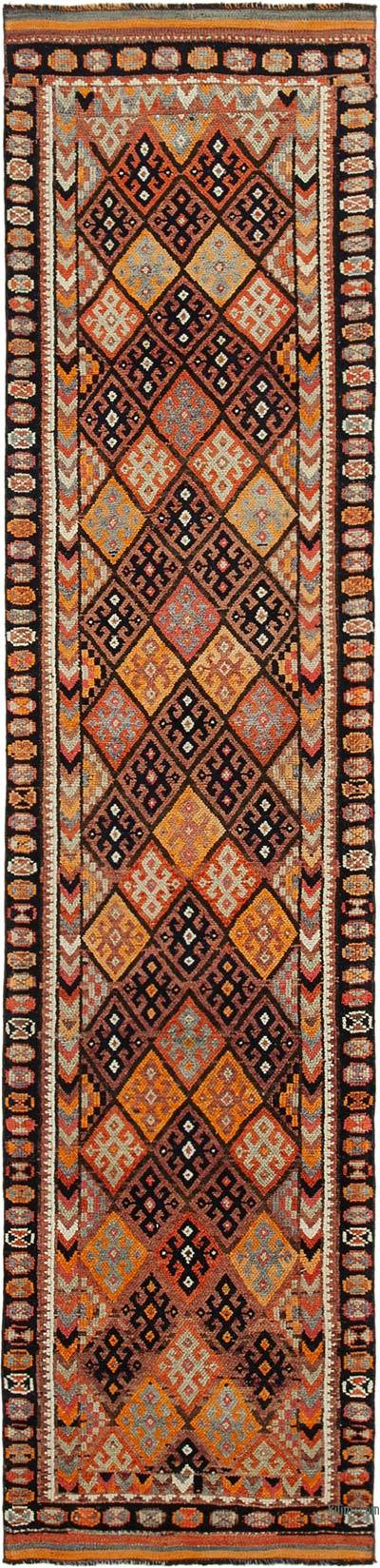 "Vintage Turkish Runner Rug - 2' 8"" x 11' 3"" (32 in. x 135 in.)"