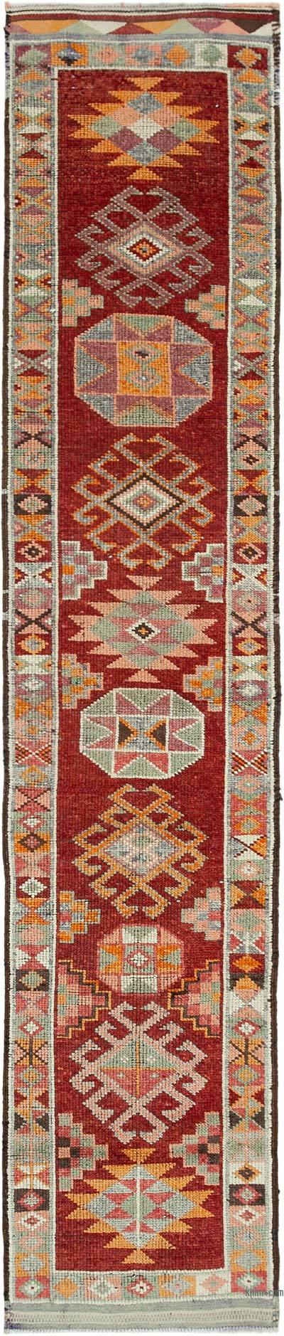 "Vintage Turkish Runner Rug - 2' 7"" x 12' 7"" (31 in. x 151 in.)"