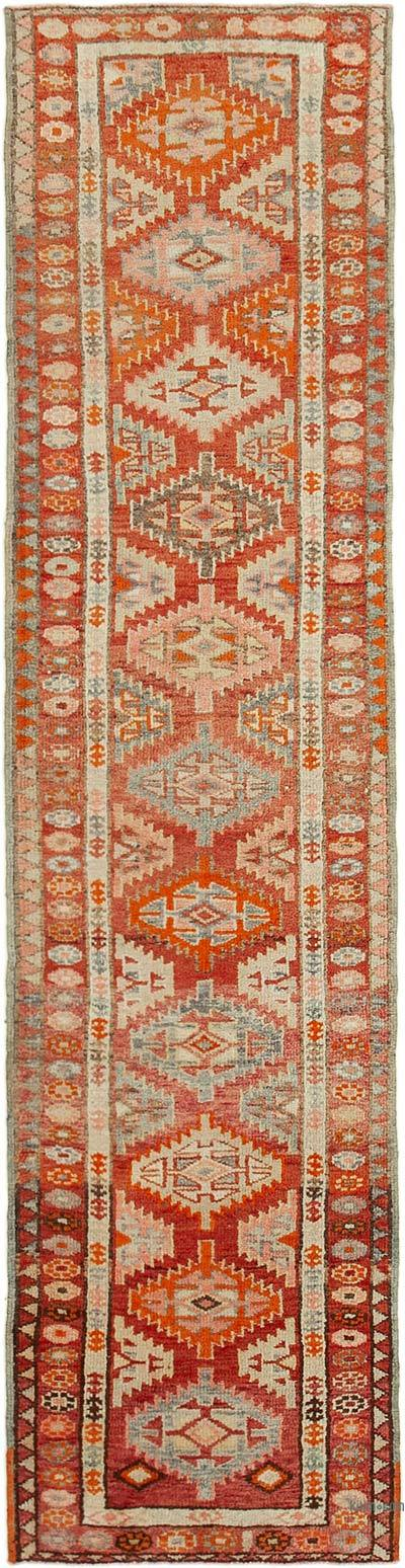 "Vintage Turkish Runner Rug - 2' 8"" x 10' 10"" (32 in. x 130 in.)"