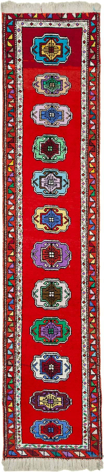"Vintage Turkish Runner Rug - 2' 7"" x 12' 2"" (31 in. x 146 in.)"