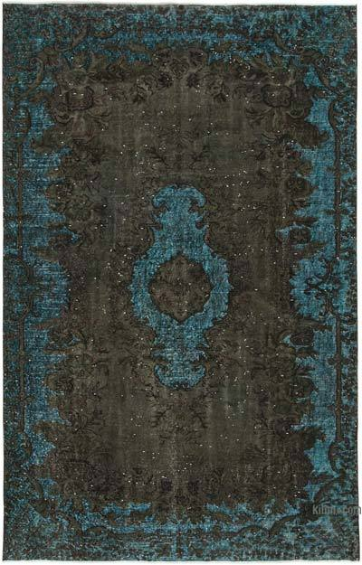 """Hand Carved Over-Dyed Rug - 5' 8"""" x 8' 11"""" (68 in. x 107 in.)"""