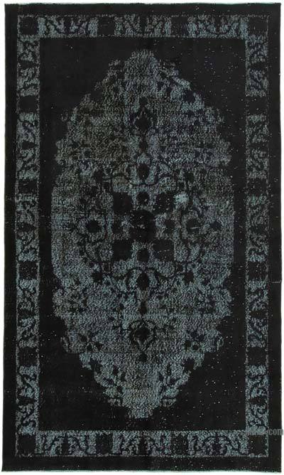 """Hand Carved Over-Dyed Rug - 5' 3"""" x 8' 11"""" (63 in. x 107 in.)"""