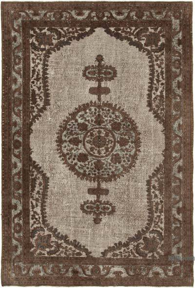 """Hand Carved Over-Dyed Rug - 7'  x 10' 5"""" (84 in. x 125 in.)"""