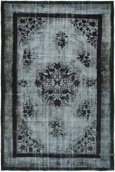 "Hand Carved Over-Dyed Rug - 7'  x 10' 4"" (84 in. x 124 in.)"