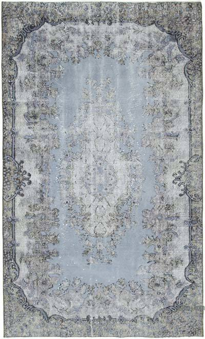 """Hand Carved Over-Dyed Rug - 5' 2"""" x 8' 9"""" (62 in. x 105 in.)"""