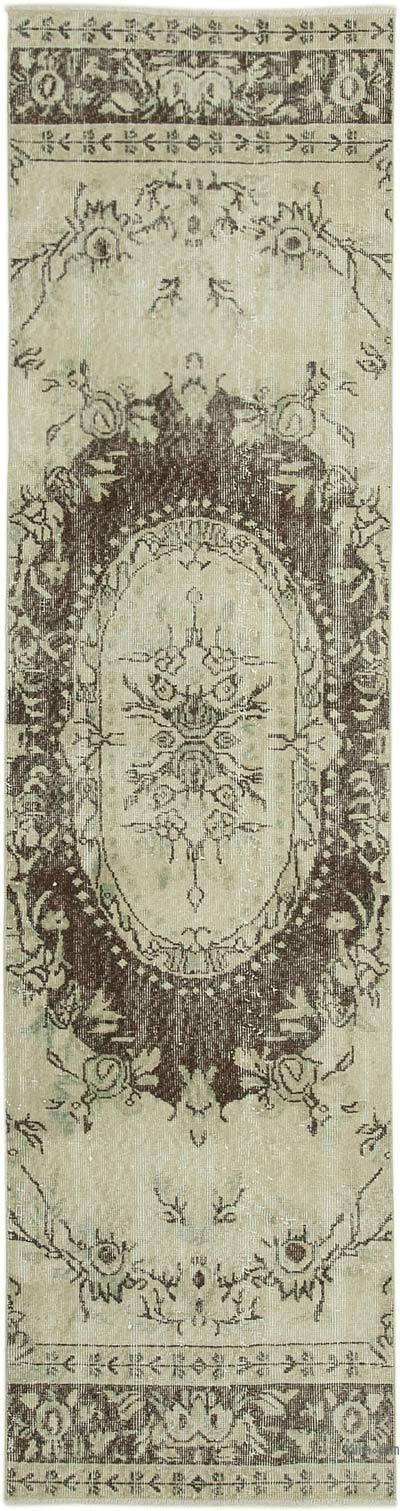 Vintage Anadolu Yolluk - 81 cm x 314 cm