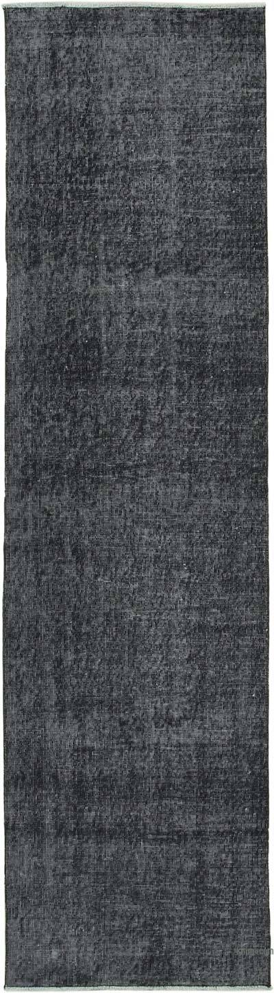 """Over-dyed Turkish Vintage Runner Rug - 2' 7"""" x 9' 9"""" (31 in. x 117 in.)"""