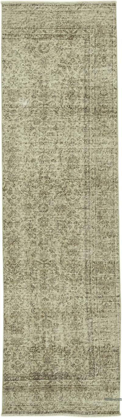 Alfombra Turca Vintage De Pasillo - 86 cm x 301 cm