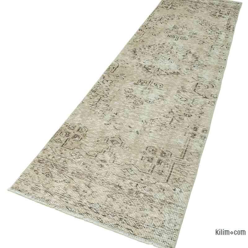 "Vintage Turkish Runner Rug - 2' 7"" x 10' 4"" (31 in. x 124 in.) - K0052257"