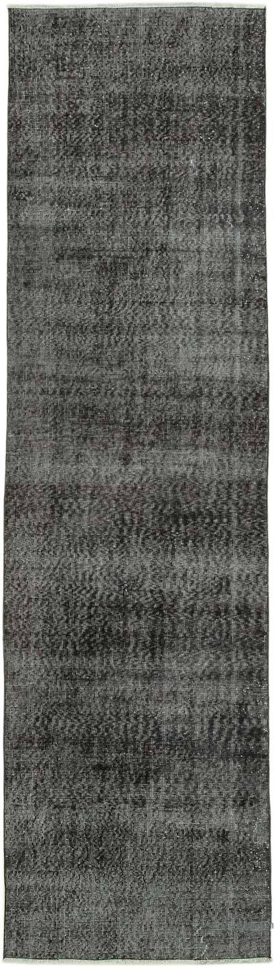 """Over-dyed Turkish Vintage Runner Rug - 3'  x 10' 9"""" (36 in. x 129 in.)"""