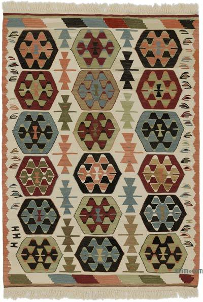 "New Handwoven Turkish Kilim Rug - 3'  x 4' 3"" (36 in. x 51 in.)"