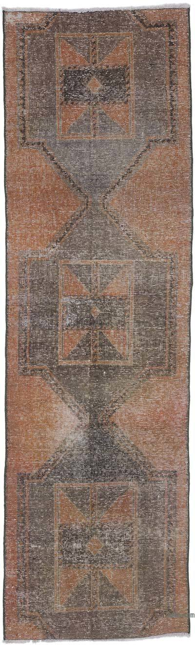 "Turkish Vintage Runner Rug - 2' 11"" x 9' 10"" (35 in. x 118 in.)"