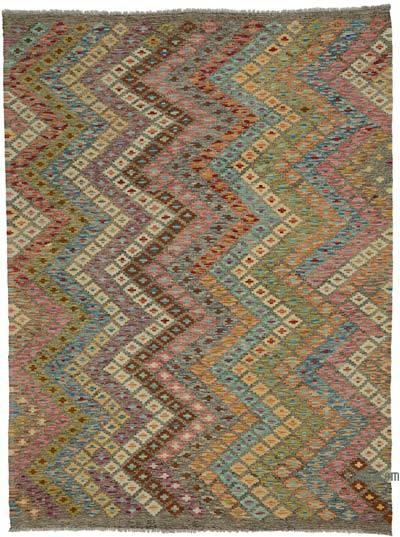 Multicolor Nueva Alfombra Kilim afgana