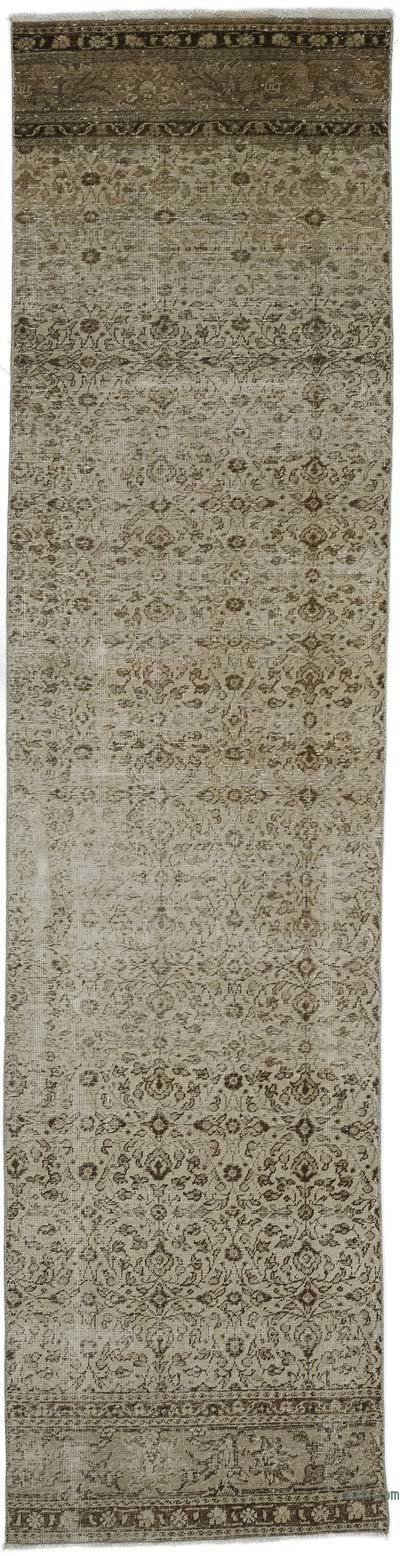 "Turkish Vintage Runner Rug - 2' 5"" x 9' 4"" (29 in. x 112 in.)"