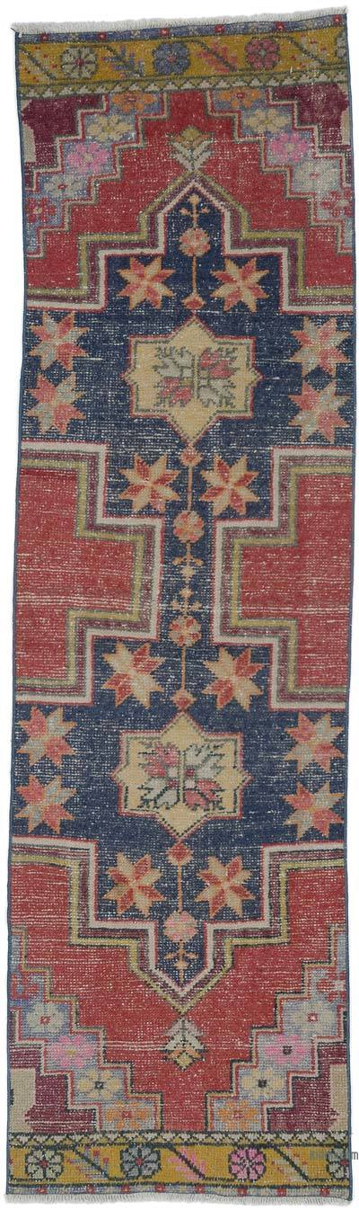"Turkish Vintage Runner Rug - 2' 6"" x 8' 4"" (30 in. x 100 in.)"