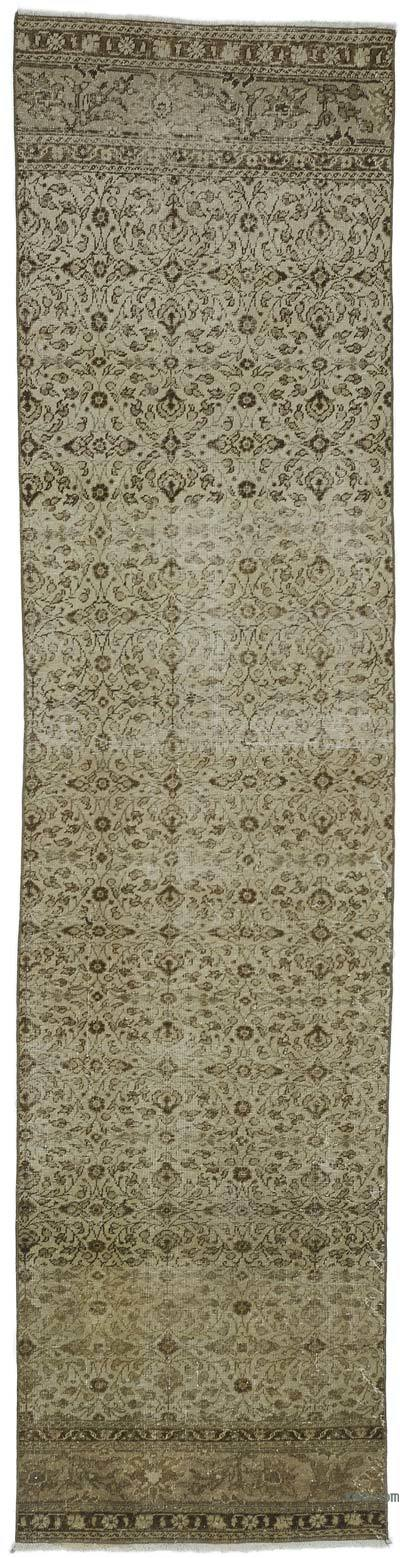 "Turkish Vintage Runner Rug - 2' 4"" x 9' 4"" (28 in. x 112 in.)"