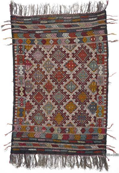Vintage Konya Cicim Kilim