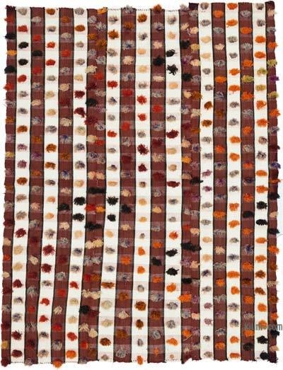 "Vintage Anatolian Flatweave Rug - 5' 5"" x 7' 1"" (65 in. x 85 in.)"