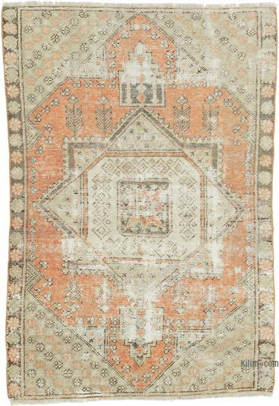 "Turkish Vintage Rug - 3' 8"" x 5' 7"" (44 in. x 67 in.)"