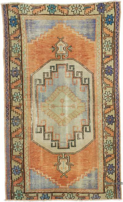 "Turkish Vintage Rug - 3' 3"" x 5' 7"" (39 in. x 67 in.)"
