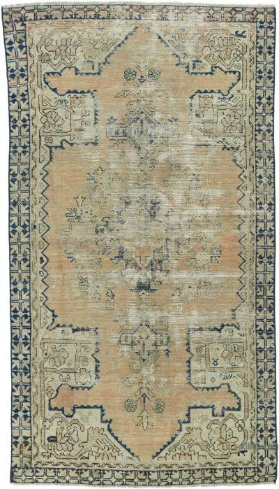 "Turkish Vintage Rug - 3' 6"" x 6' 3"" (42 in. x 75 in.)"