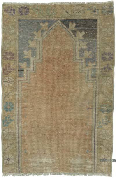 "Turkish Vintage Rug - 2'  x 3' 1"" (24 in. x 37 in.)"