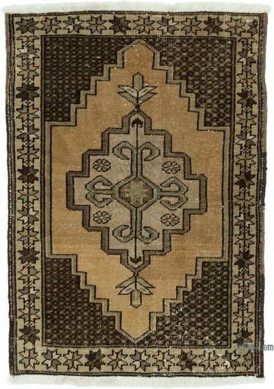 "Turkish Vintage Rug - 2' 4"" x 3' 4"" (28 in. x 40 in.)"