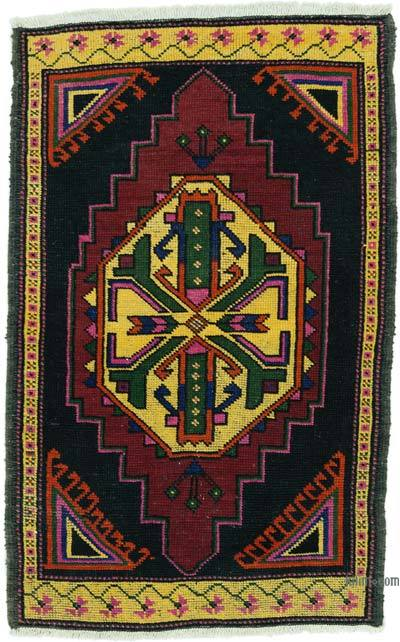 "Turkish Vintage Rug - 2' 4"" x 3' 7"" (28 in. x 43 in.)"
