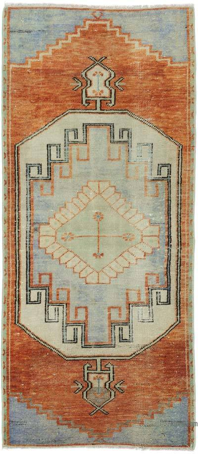 "Turkish Vintage Rug - 2' 1"" x 4' 9"" (25 in. x 57 in.)"