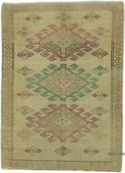 "Turkish Vintage Rug - 2' 3"" x 3' 1"" (27 in. x 37 in.)"