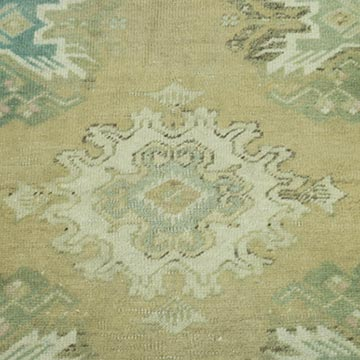 """Vintage Turkish Hand-Knotted Rug - 1' 8"""" x 2' 8"""" (20 in. x 32 in.) - K0052836"""