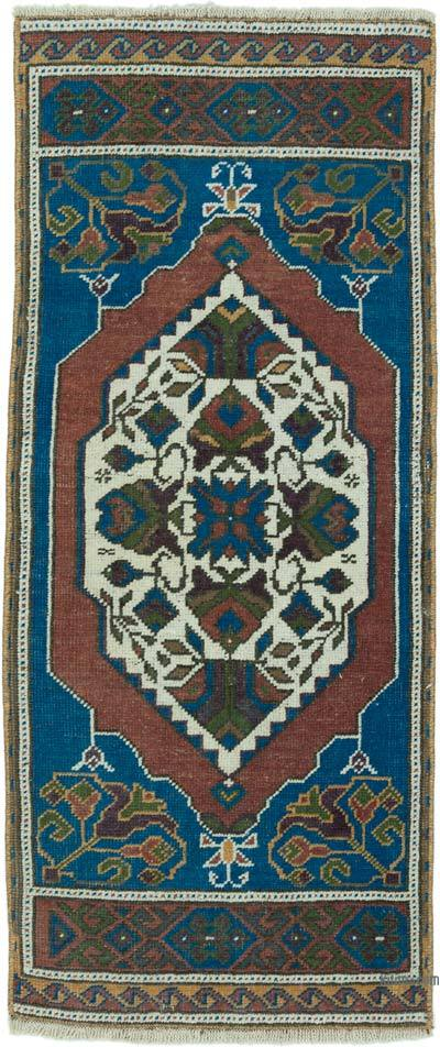 "Turkish Vintage Rug - 1' 7"" x 3' 7"" (19 in. x 43 in.)"