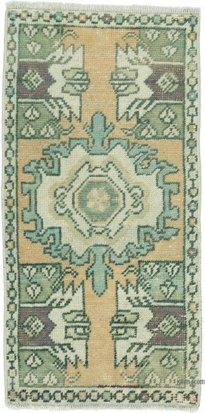 "Turkish Vintage Rug - 1' 6"" x 2' 11"" (18 in. x 35 in.)"