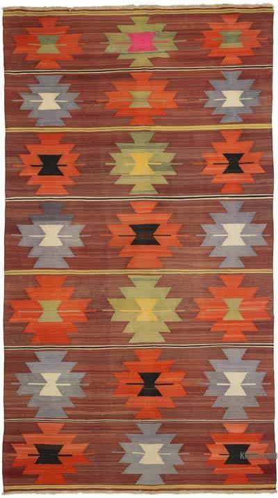 """Vintage Manisa Kilim Rug - 6'  x 10' 6"""" (72 in. x 126 in.)"""