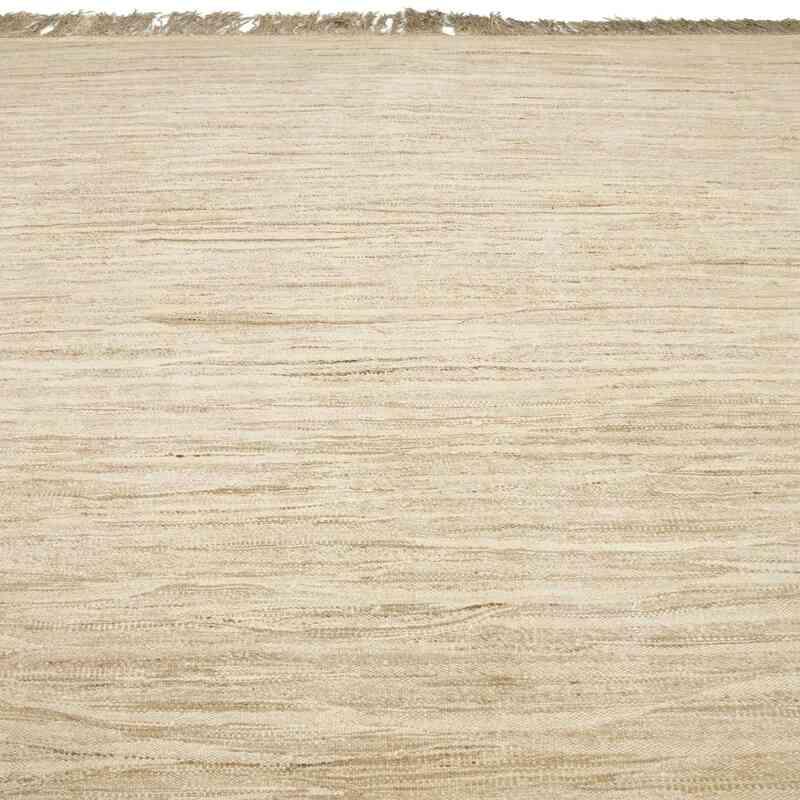 Beige Nueva Alfombra Turca Kilim - 439 cm x 515 cm - K0053821