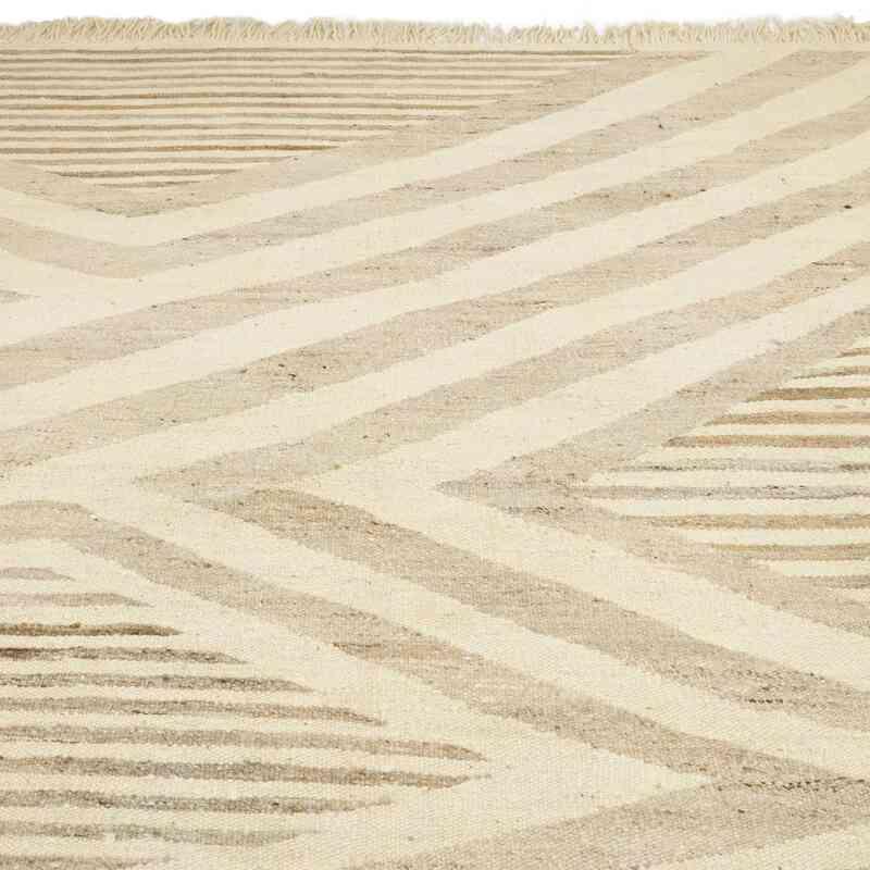 Yeni Kök Boya El Dokuma Kilim - 420 cm x 542 cm - K0054091