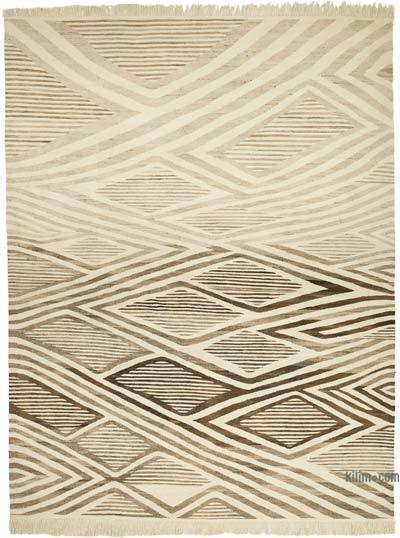 "New Handwoven Turkish Kilim Rug - 13' 9"" x 17' 9"" (165 in. x 213 in.)"