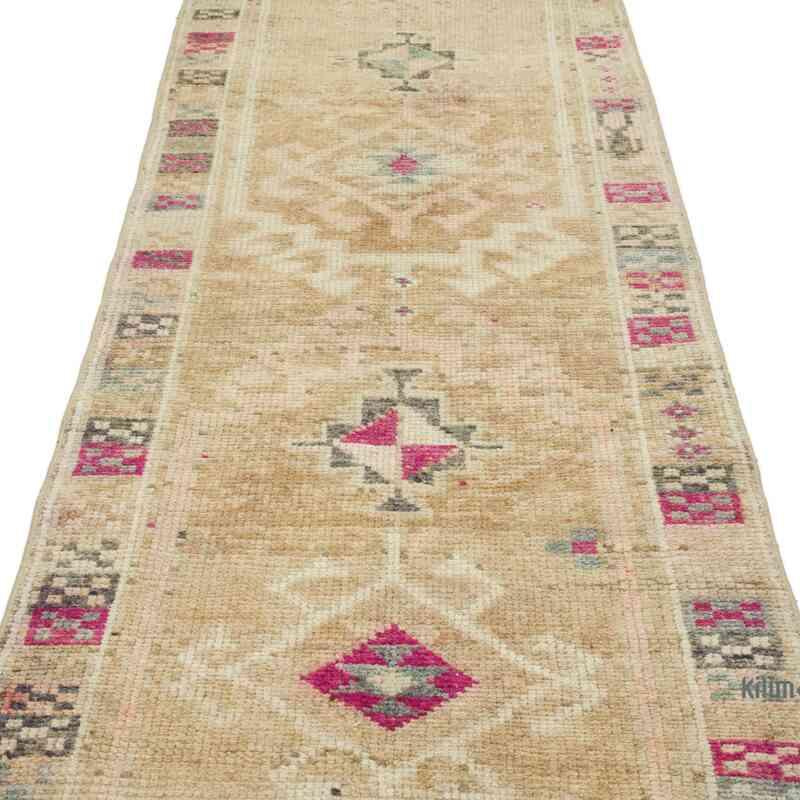 Alfombra Turca Vintage de pasillo - 82 cm x 394 cm - K0054197