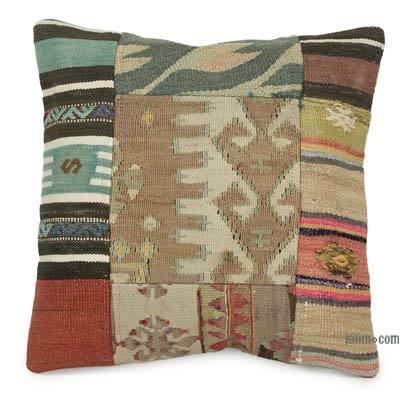 Anatolian Kilim Pillow Turkish Handmade Kilim Pillow, Kilim Pillow 20x12 inch 50x30 cm Decorative Kilim Pillow Ethnic Kilim Pillow