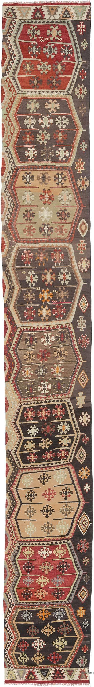Sivas Kilim Yolluk - 85 cm x 665 cm
