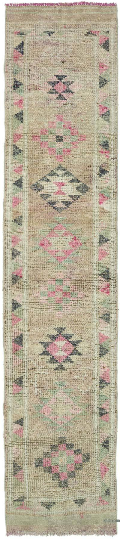 Vintage Anadolu Yolluk - 78 cm x 356 cm