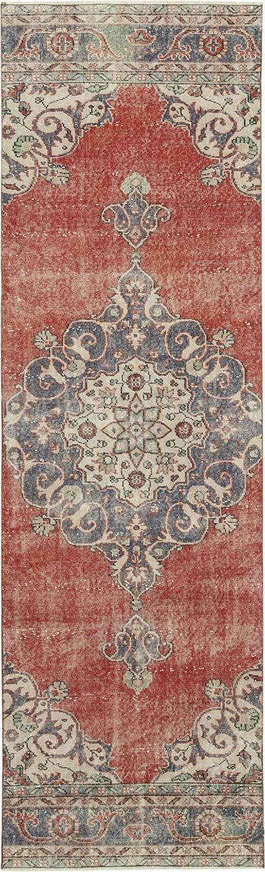 Vintage Anadolu Yolluk - 91 cm x 298 cm
