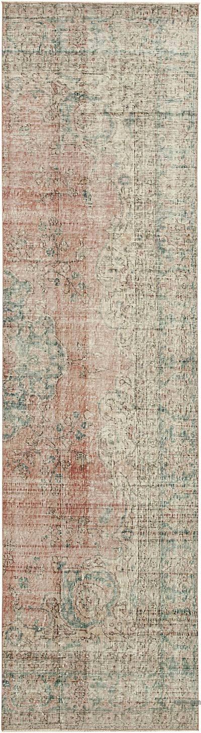Vintage Anadolu Yolluk - 85 cm x 303 cm