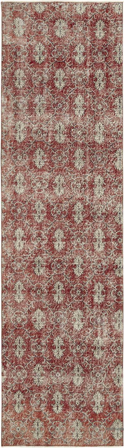 Vintage Anadolu Yolluk - 91 cm x 326 cm