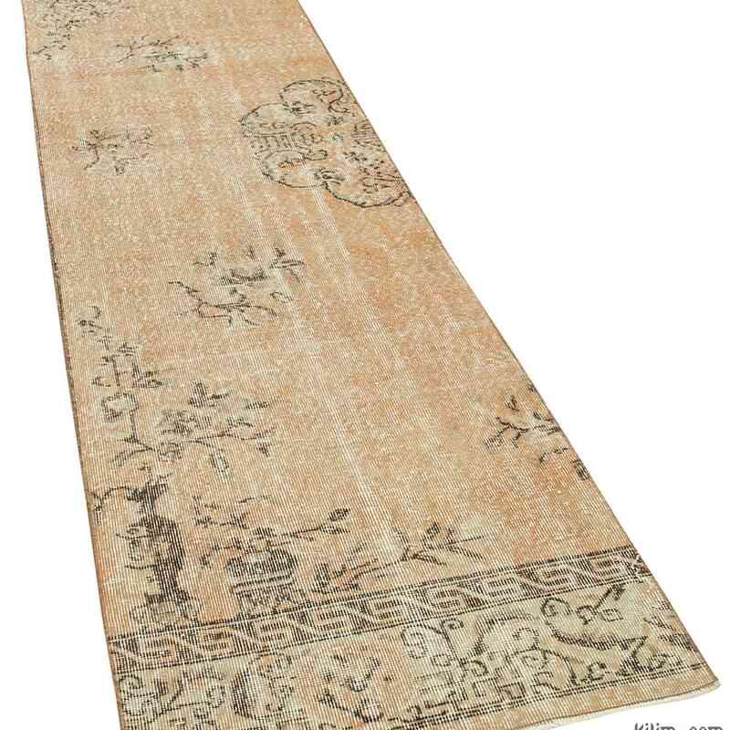 "Vintage Turkish Runner Rug - 2' 7"" x 10' 9"" (31 in. x 129 in.) - K0054527"